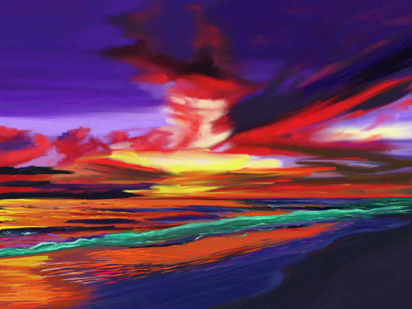 Sunset (Digital)