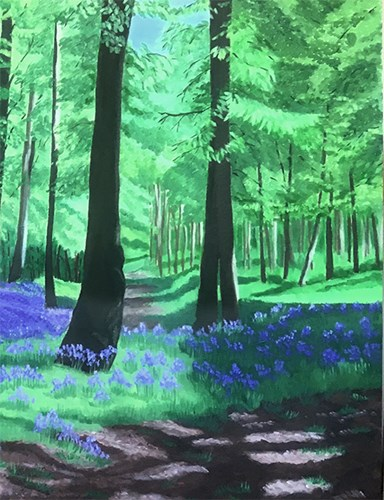 Bluebell Woods - Detail