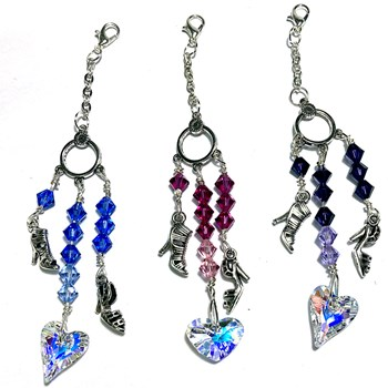 Crystal Bag Charms